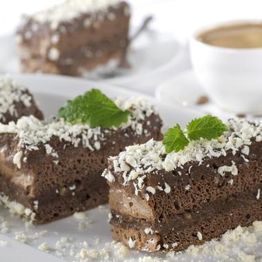 Cake coco-choco vegan