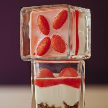 Cheesecake fraises Tagada