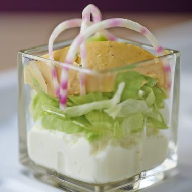 Œufs mimosa et salade de betterave