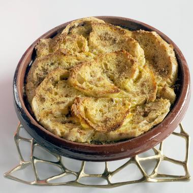 Pudding de pain rassis aux épices