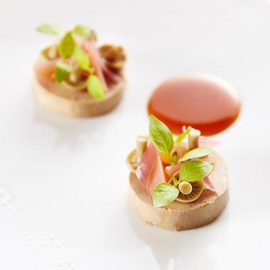 Foie gras d'oie cuit en terrine