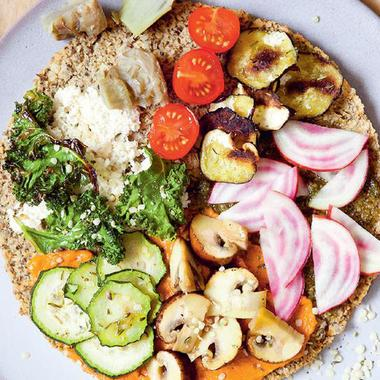 Green Pizza aux légumes