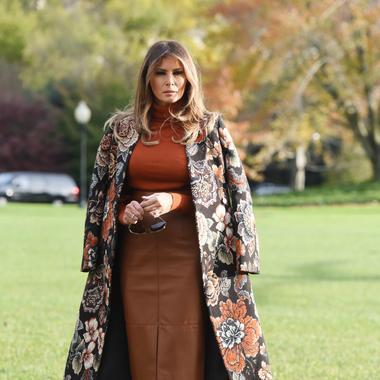 Signifier De Le Mais Mode Trump Madame Peut Que Melania Tic Bien B4wBTtn0