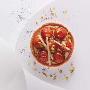 Tarte salée tomates et abondance