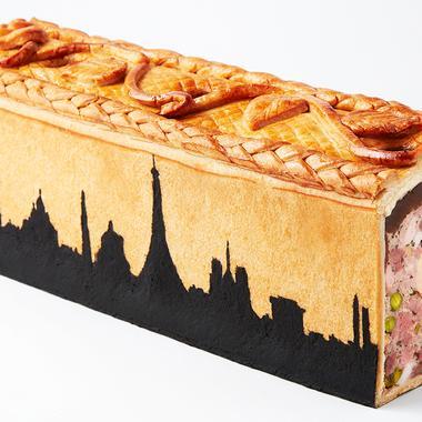 Pâté en croûte au foie gras du Crillon