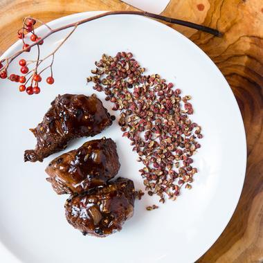 Bœuf à la sauce au poivre de Sichuan
