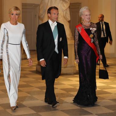 AFP Brigitte Macron En Visite Dtat Scandinavie
