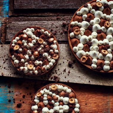 Tarte vanille chocolat