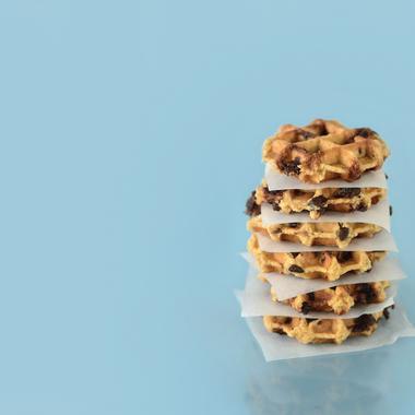 Cookie façon gaufre