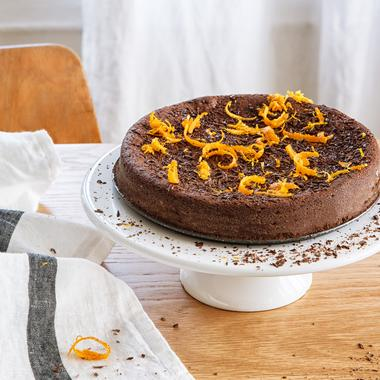 Gâteau chocolat-orange