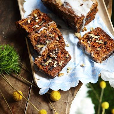 Carrot cake aux noix