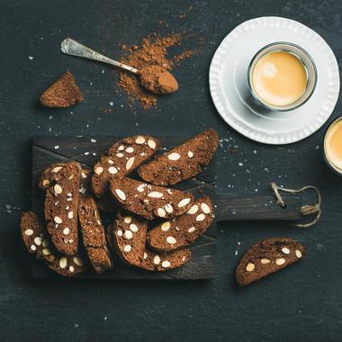 Biscotti aux amandes et chocolat sans gluten