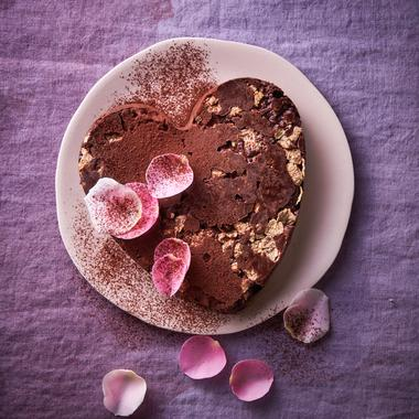 Gâteau au chocolat et corn flakes