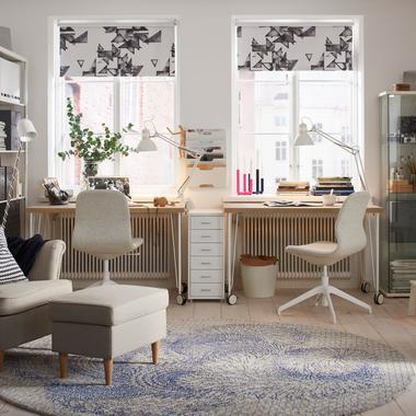 bien am nager un coin bureau la maison madame figaro. Black Bedroom Furniture Sets. Home Design Ideas