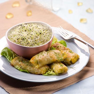Friands aux légumes (sans gluten)