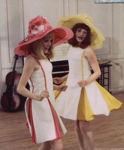 Un look esprit Les Demoiselles de Rochefort - Un look sous le signe du jaune