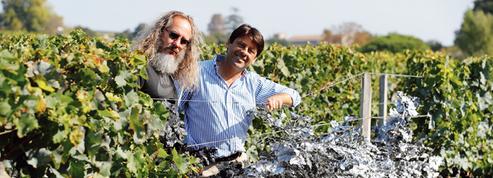 Dans les vignes chromées de La Gaffelière