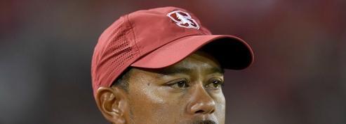 Le faux départ de Tiger Woods...