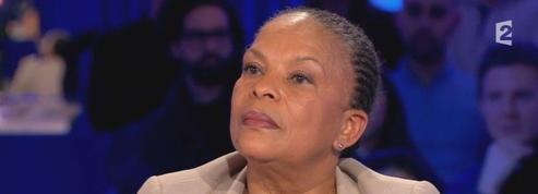On n'est pas couché :Christiane Taubira attire moins de téléspectateurs que Manuel Valls