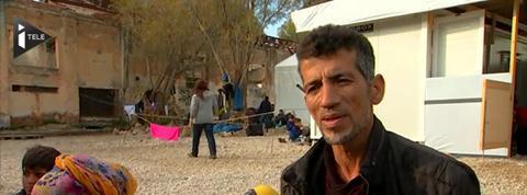 Sur l'île de Leros, les camps de réfugiés ne désemplissent pas