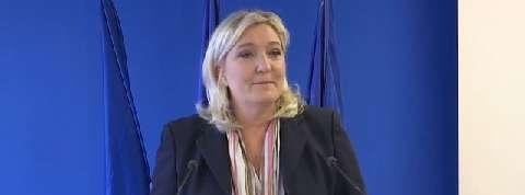 Marine Le Pen : «Vous me verrez peu cette année»