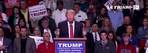 Trump pense qu'il est «arrivé premier» à la primaire dans l'Iowa