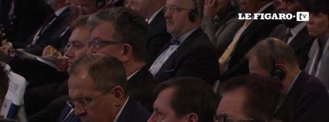 A Munich, Valls et Medvedev s'affrontent sur la Syrie