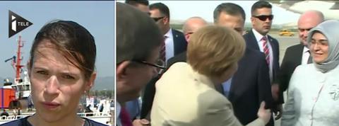 Angela Merkel en Turquie pour une visite sous tension