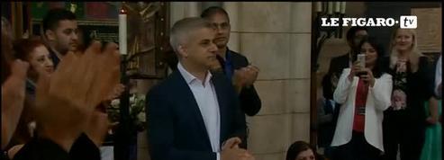 Sadiq Khan prête serment en tant que nouveau maire de Londres