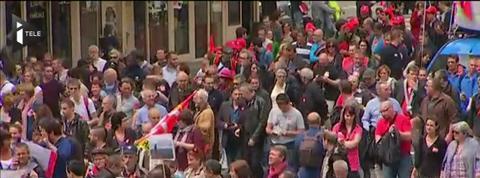 Contre la loi travail, 18.000 à 100.000 manifestants dans les rues de Paris