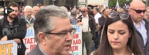 Grèce: grève générale contre les réformes