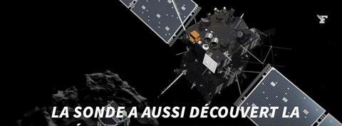 Rosetta a découvert une brique du vivant sur la comète Tchouri