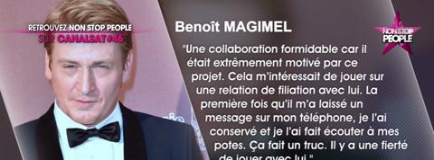 Gérard Depardieu : Benoît Magimel évoque leur relation (vidéo)