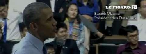 Obama déclare son amour du rap au Vietnam