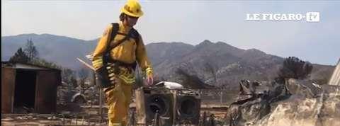 Californie: l'incendie a déjà détruit 200 maisons