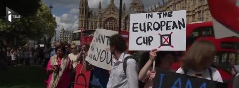 Plus de 700.000 Britanniques anti-Brexit signent une pétition pour la tenue d'un nouveau référendum