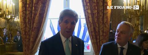 John Kerry à Paris pour la paix au Moyen-Orient