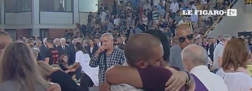 Receuillement et deuil national en Italie