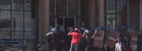 Zimbabwe : violentes échauffourées dans la capitale