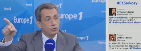 Sarkozy : «On ne peut pas garder 29% d'une communauté tentée par la charia»