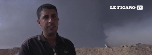 Daech incendie une usine de soufre pour ralentir l'avancée de l'armée irakienne vers Mossoul
