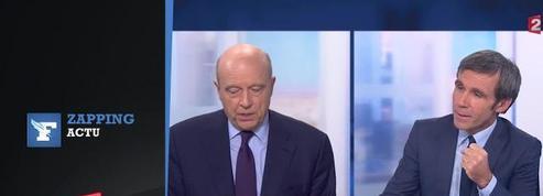 Zapping: François Fillon et Alain Juppé s'affrontent par JT interposés