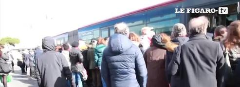 Les transports du centre de Rome paralysés par les tremblements de terre