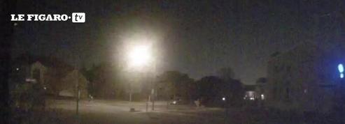Le passage d'une météorite capturé dans une vidéo