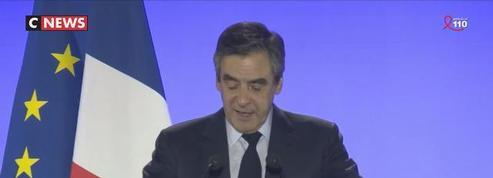 François Fillon : «Jamais dans la cinquième République on a vu un tel déchaînement contre un homme»