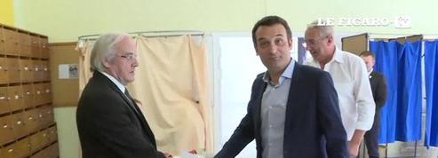 Législatives : Florian Philippot a voté dans fief à Forbach