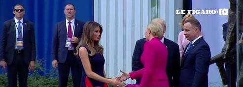 La première dame polonaise met un vent à Trump