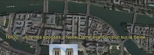 14 juillet : le parcours de Donald Trump à Paris vu du ciel