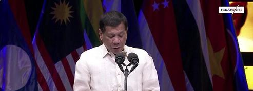 Philippines : cérémonie de clôture du forum de l'Asean à Manille