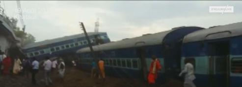 Inde : dix morts dans un déraillement de train